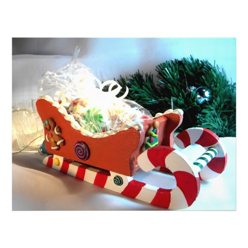 Gingerbread Sleigh I Flyer Design