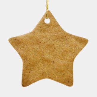 Gingerbread star shaped cookie - cinnamon