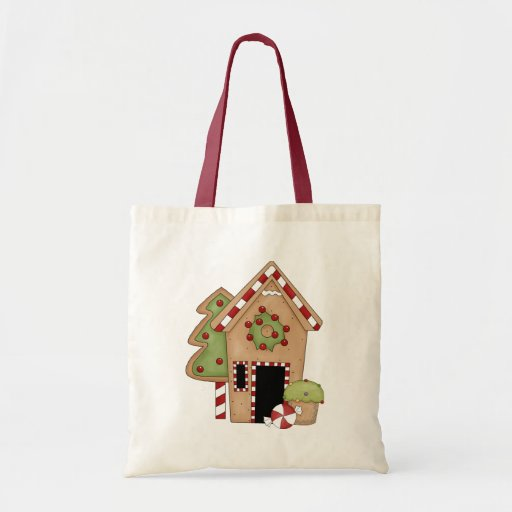 Gingerbread Sweet Treats Bag Tote Bags