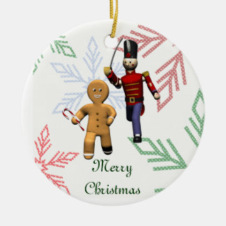 Gingerbread Thief Christmas Ornament