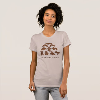 Gingerbread Yoga | T-Shirt