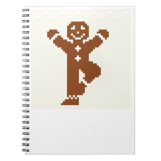 Gingerbread Yoga Tree Asana Notebook