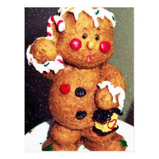 GINGERBREAD'S CHRISTMAS POSTCARD