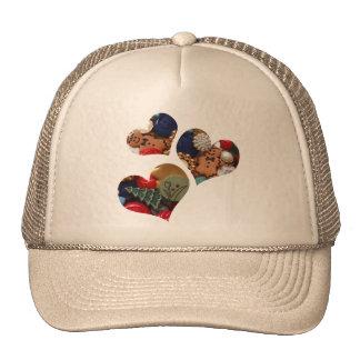 Gingergread Men Hearts Trucker Hat