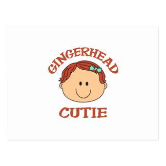 GINGERHEAD CUTIE POSTCARD