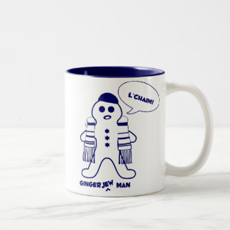 Gingerjew Man Two-Tone Mug