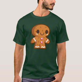 Gingerman animated cartoon illustration T-Shirt