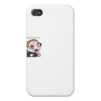Gingers do have souls iPhone 4 case