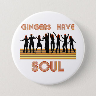 Gingers have Souls Train 7.5 Cm Round Badge