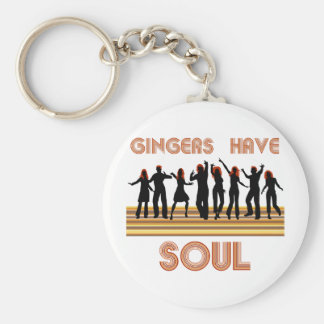 Gingers have Souls Train Key Ring