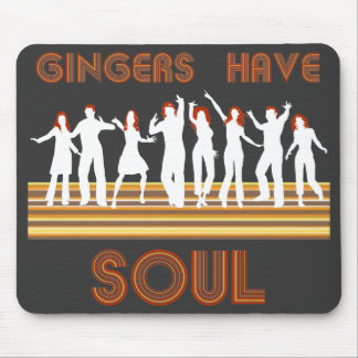 Gingers have Souls Train Mouse Mat