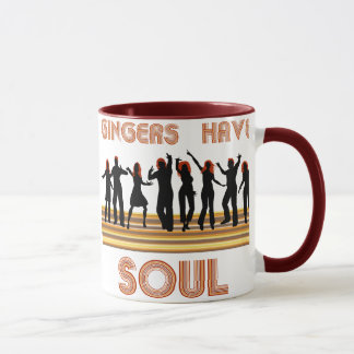 Gingers have Souls Train Mug