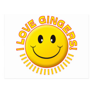 Gingers Love Smile Postcard