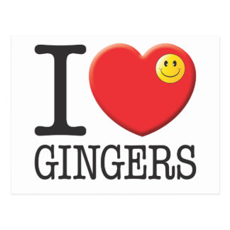 Gingers Postcard