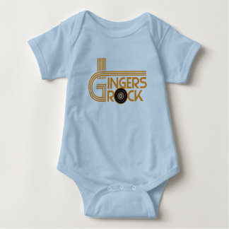 Gingers Rock Baby Bodysuit