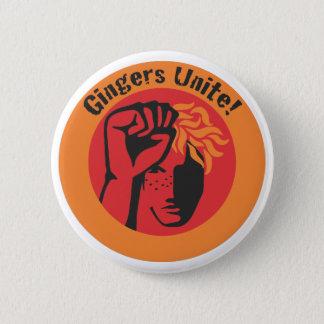 Gingers Unite! 6 Cm Round Badge