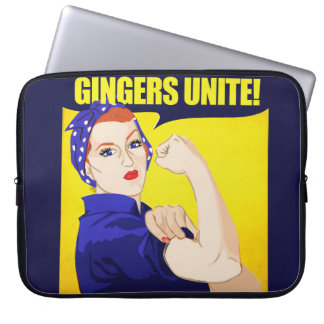 Gingers Unite Computer Sleeve