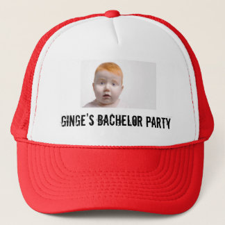 Ginge's Bachelor Party Trucker Hat