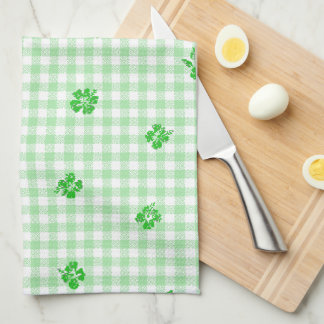 Gingham and Roses 3 Towel