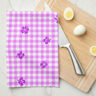 Gingham and Roses 5 Kitchen Towels