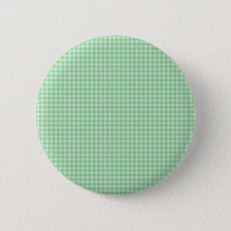 Gingham Background 6 Cm Round Badge