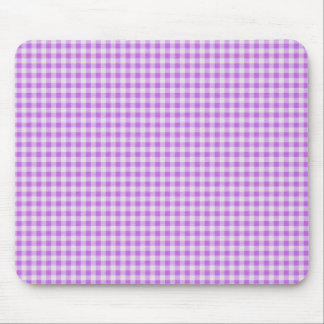 Gingham Background Mouse Mat