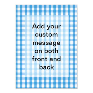 Gingham Check Pattern Card