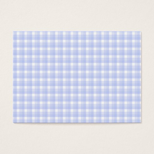 Gingham check pattern. Light Blue & White. Business