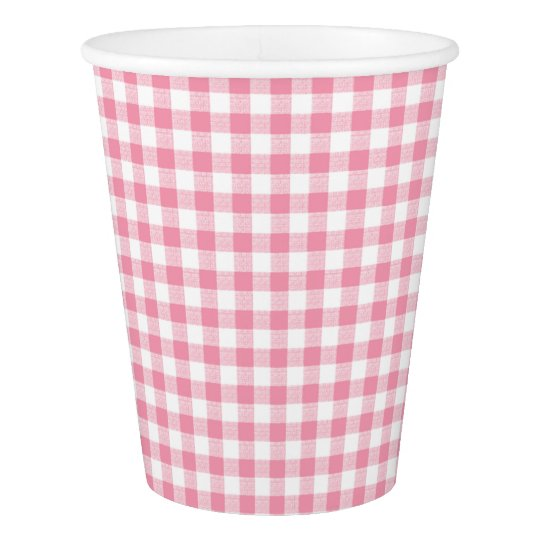 Gingham Check Small Pink