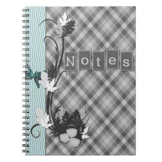 Gingham Notebooks
