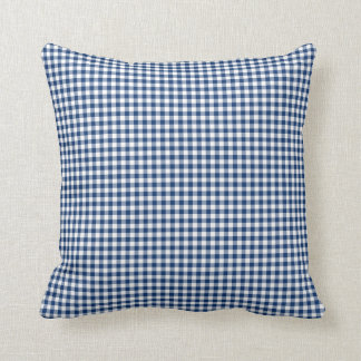 Gingham Pillow in Sodalite Blue