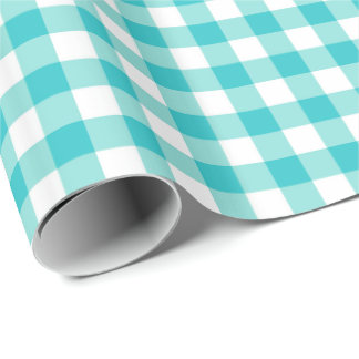 Gingham Plaid Wrapping Paper