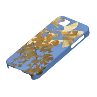 gingko leaf iphone cover