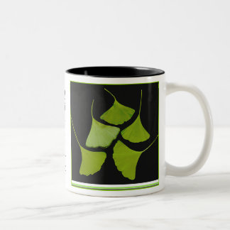Gingko leaves mug