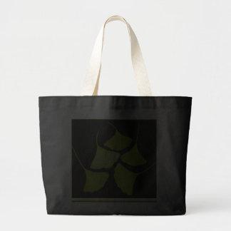 gingko leaves tote jumbo tote bag