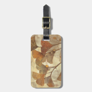 Gingko Luggage Tag