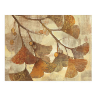 Gingko Postcard