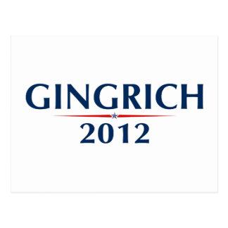 GINGRICH 2012 (v102) Postcards