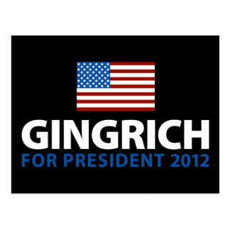 Gingrich for President Postcard