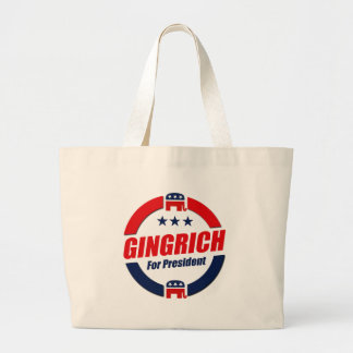GINGRICH FOR PRESIDENT (Republican) Tote Bags