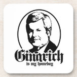 GINGRICH IS MY HOMEBOY COASTERS