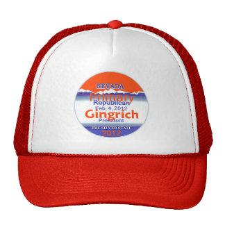 Gingrich Nevada Hat