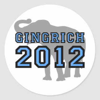 Gingrich Stickers