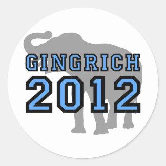 Gingrich Stickers