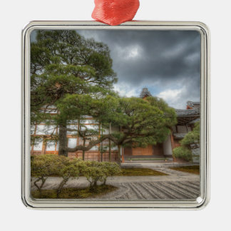 Ginkaku-ji Silver Temple, Kyoto Japan Christmas Ornament