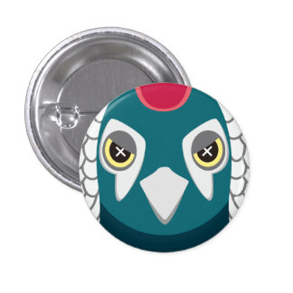 ginkei - Lady Amherst's Pheasant 3 Cm Round Badge