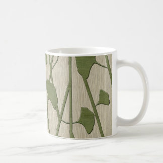 ginkgo biloba coffee mug