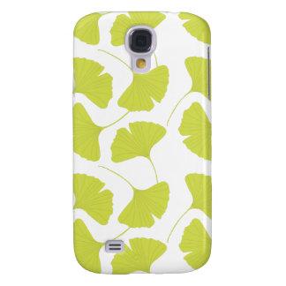 Ginkgo Ginko Biloba Green Leaves Galaxy S4 Case