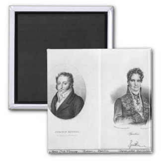 Gioacchino Rossini Gaspare engraved by Magnet