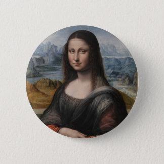 """Gioconda """"of the Prado Museum"""" - da Vinci 6 Cm Round Badge"""